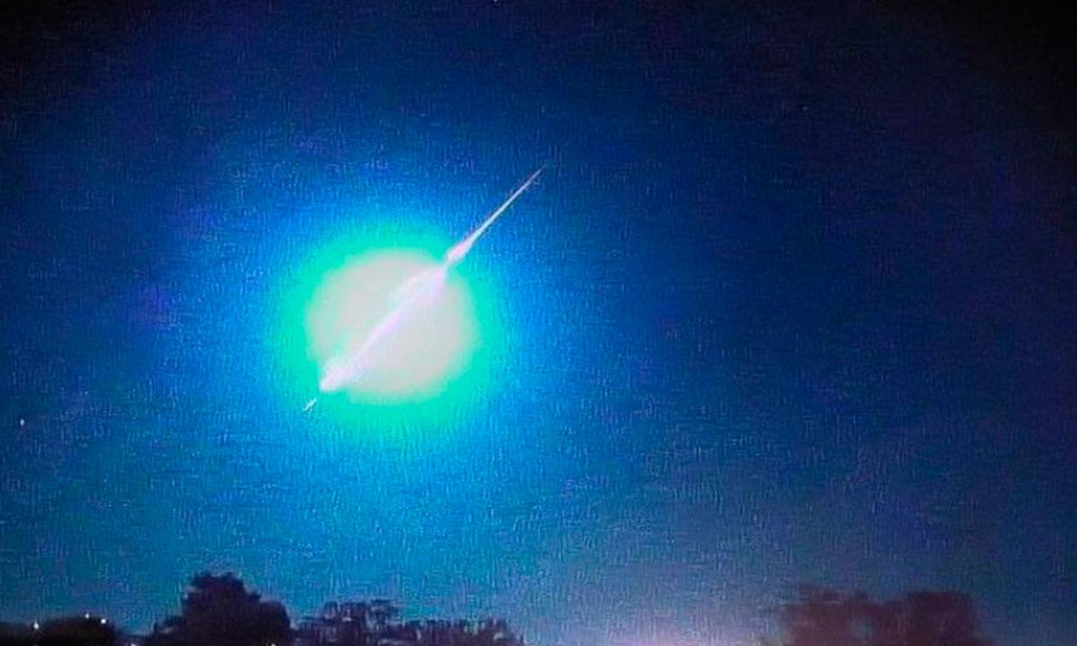 Queda de meteoro é registrada na fronteira do Rio Grande do Sul com Uruguai